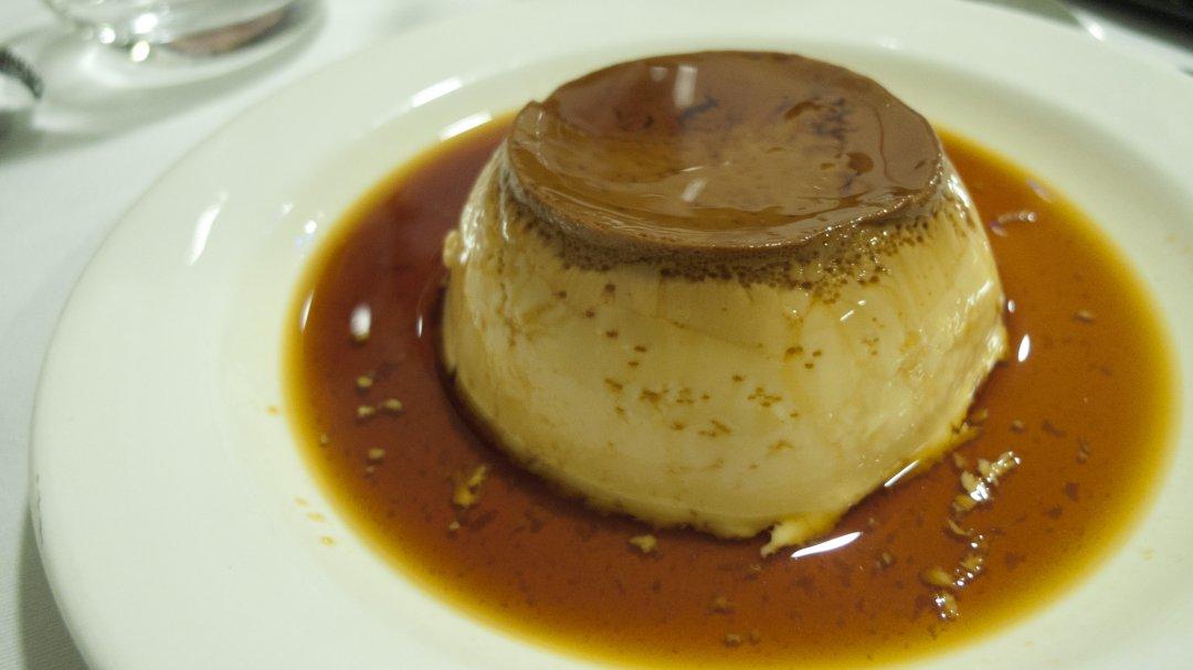 Restaurante Aroa (Lekeitio): flan