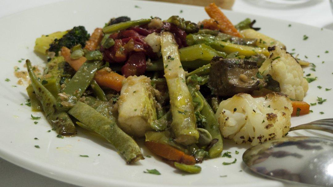 Restaurante Aroa (Lekeitio): verduras
