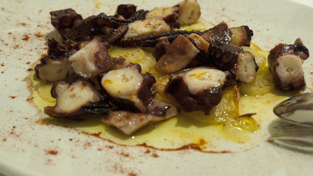 Restaurante Aroa (Lekeitio): pulpo