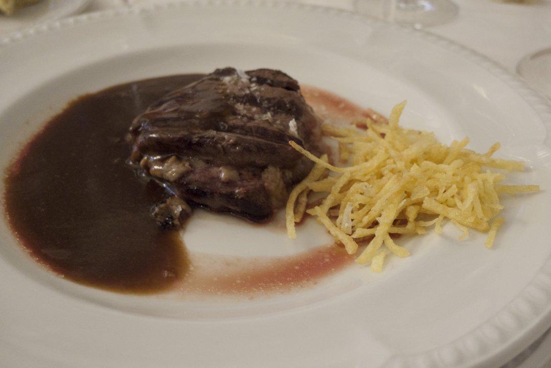 Restaurante Kai Alde (Santurtzi): solomillo hongos