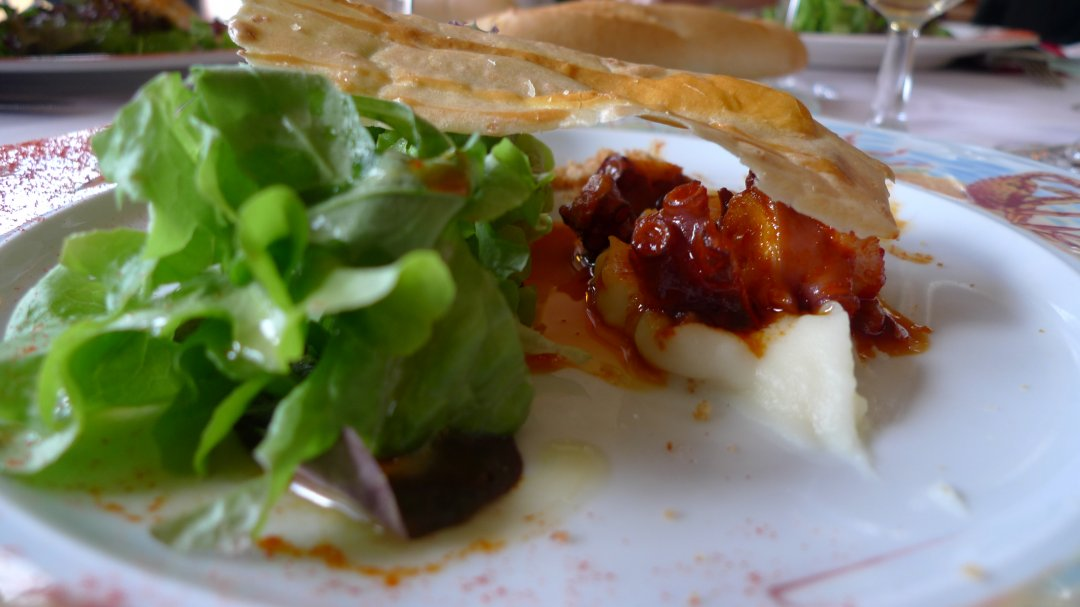 Restaurante Zelai Zabal: Ensalada de pulpo