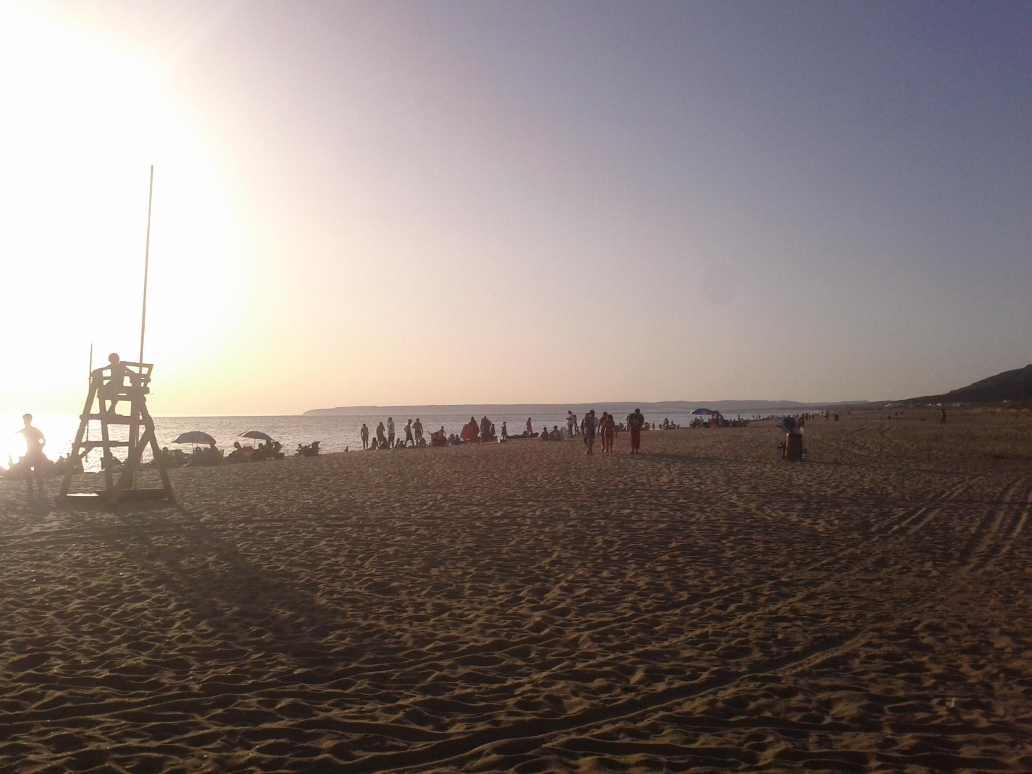 Zahara de los Atunes: foto de la Playa de Atlanterra al atardecer