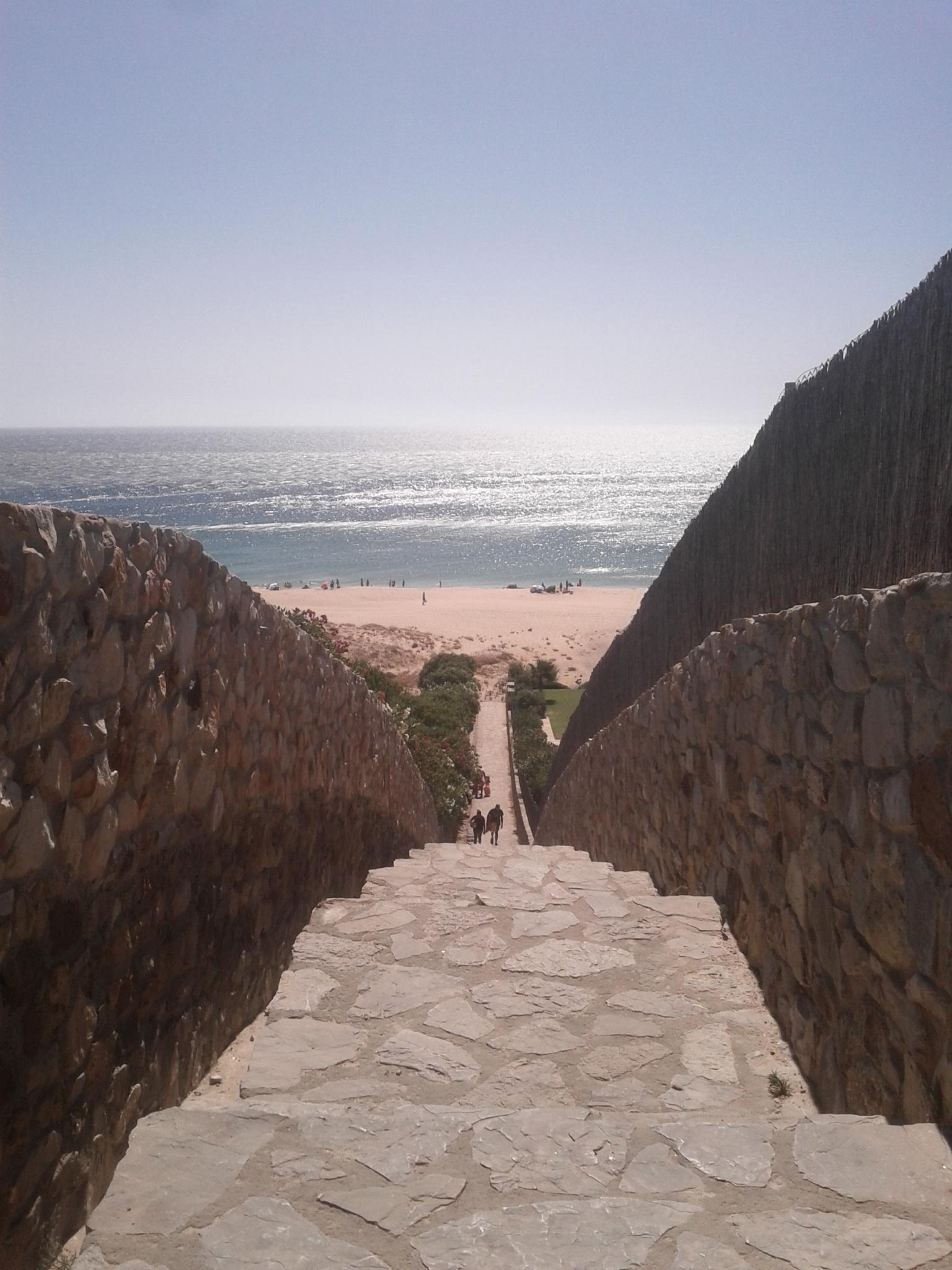 Zahara de los Atunes: foto del acceso a la Playa de los Alemanes