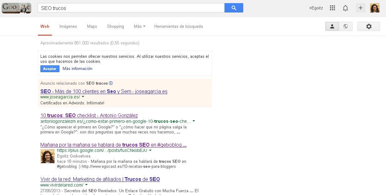 Trucos SEO con Google+