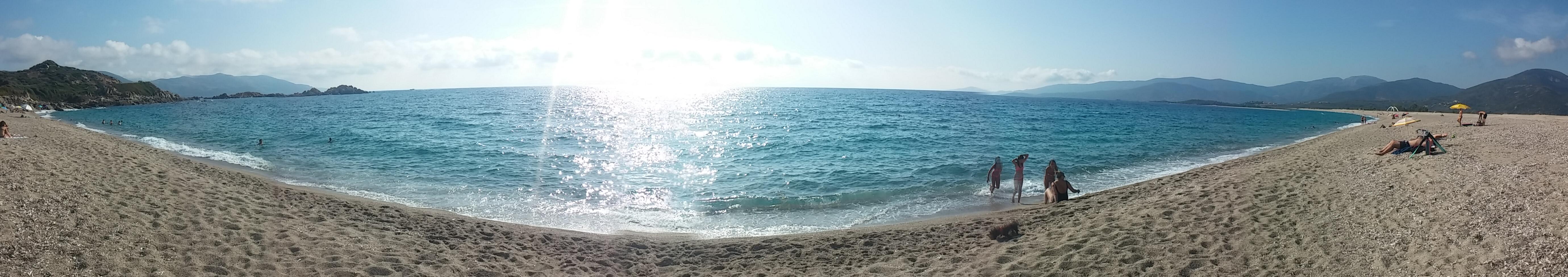 playa-liamone-corcega-panoramica