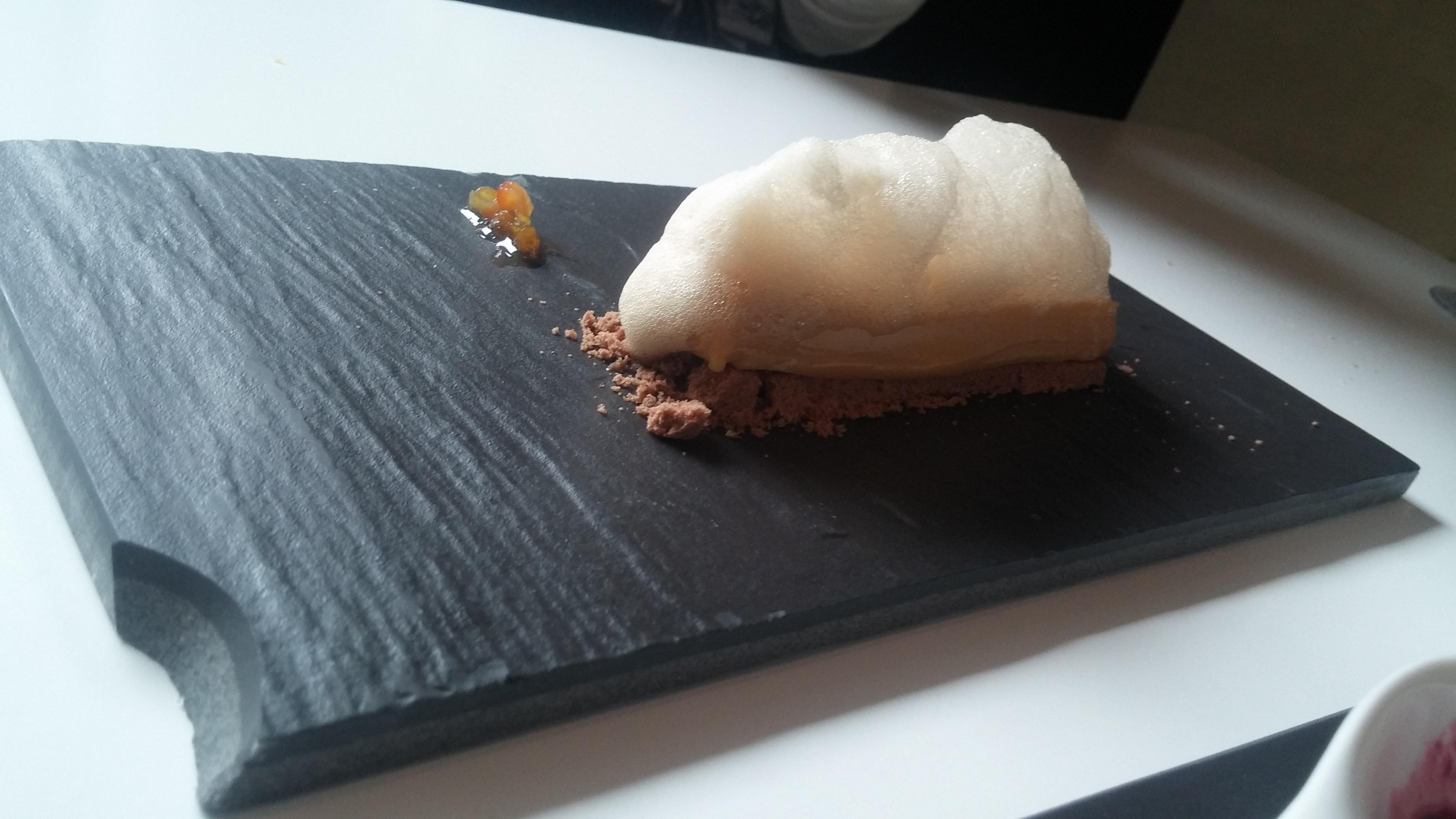 Comer en Donostia: Pastel de toffee del Restaurante Bokado San Telmo